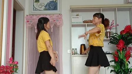 双人对跳《西藏情歌》