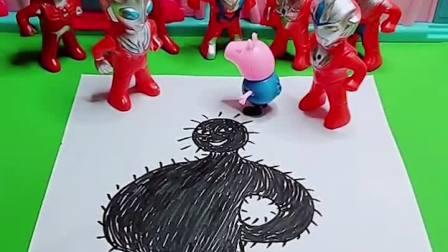 奥特曼要把怪兽抓起来,可奥特曼需要小朋友帮忙!