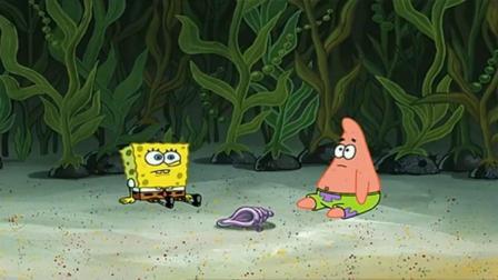 海绵宝宝:章鱼哥的午餐,只有一只小虫子,海绵宝宝却在吃香喝辣