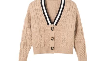 穿衣搭配女—秋季上身开衫毛衣怎么搭配呢?