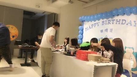 20.9.19 CKG48 田倩兰生日冷餐会