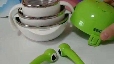 亲子幼教有趣玩具:三个碗回来了,餐具又完整了