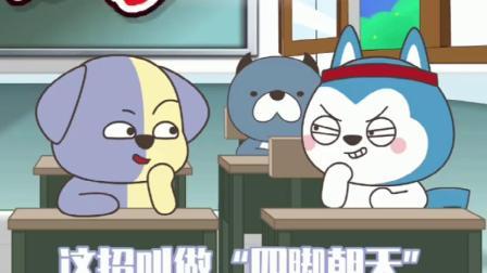 星座狗:班里来了一个插班生,没想到这么厉害!