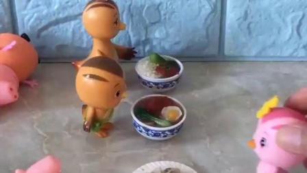 有趣的幼教玩具:乔治挺机灵的呀