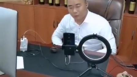 聚亿宫廷糕点董事长彭志兵直播交流