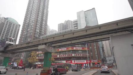 重庆轻轨二号线司机——余林峰