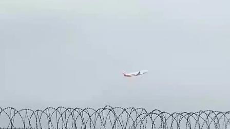 南宁机场 奥凯航空738起飞