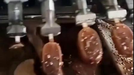 巧克力冰棍制作流程原来是这样的,看的我口水都流出来