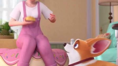 飞狗MOCO:要不要试试我制作的奶油面包