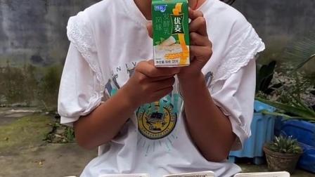 童年趣事:奶好喝吗