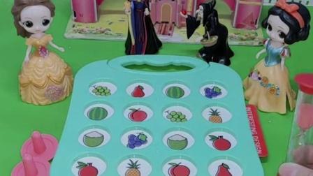 公主们比赛,谁是最聪明的公主?