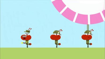 嗨道奇:蚂蚁的野餐要开始了,他们还没过河,这该怎么办!