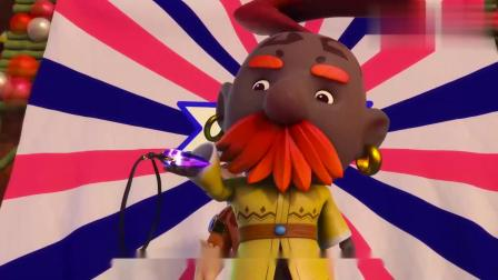 猪猪侠:传承仪式就要开始了,猪猪侠还是没有赶上!