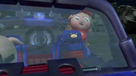 猪猪侠:军人的象征,玫瑰王子为了拯救世界,帮猪猪侠拖住魇魔王!