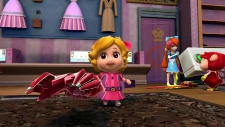 猪猪侠:魔镜真可怕,照过镜子之后,整个人都变邪恶了!