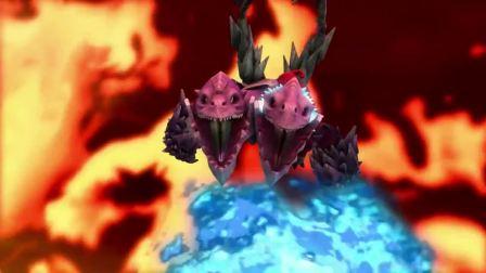 猪猪侠:魔龙王被封印,猪猪侠也被五灵王同化,再也救不回来!