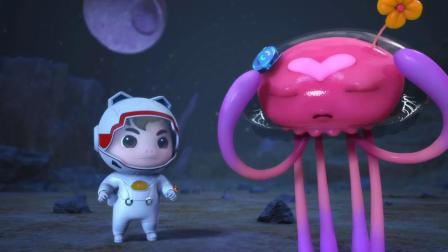 猪猪侠:猪猪侠和迷糊博士成为敌人,阿五变身,将迷糊博士拿下!