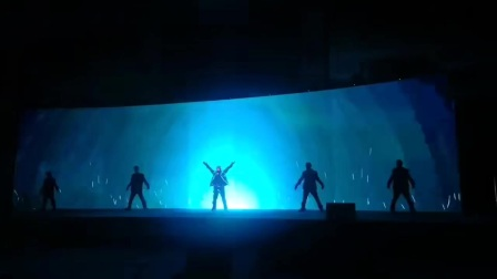 武汉视频互动秀极速未来演出18672791302 武汉金帝歌舞团互动秀舞蹈