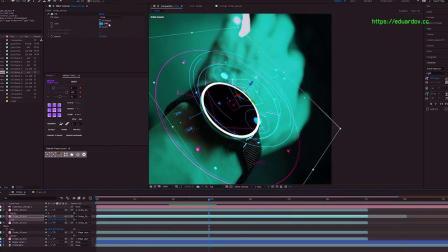 视频素材-100个未来科技感HUD图形元素动画包 Hud Elements Pack vol1