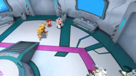 猪猪侠:普利斯启动能源最大化,结果却把自己坑了,钢齿虎失控了!