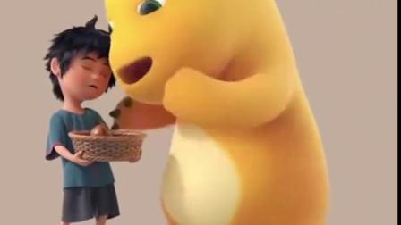 奶龙:一只大恐龙啊呜啊呜就吃饱了,真可爱啊!