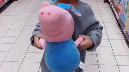 亲子游戏:小猪佩奇介绍自己的家人