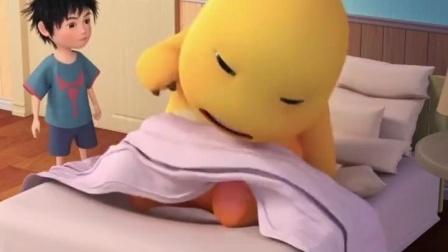 小奶龙:早上被叫起床的你