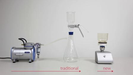 实验室直接排水式真空过滤系统 - WaterVac 100