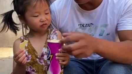童年趣事:吃薯片啦!吃薯片啦!
