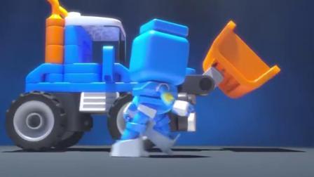 《百变布鲁可》机器人鲁鲁挑战跳太空步,全程踩点
