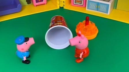 猪妈妈在家里做的什么,佩奇乔治他们都想要吃,猪妈妈不让吗?
