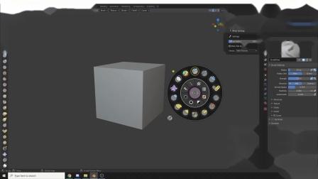 Sculpt Wheel - Blender Market.MP4