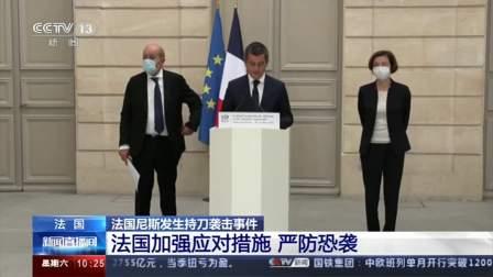 法国 法国尼斯发生持刀 法国加强应对措施 严防恐袭
