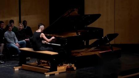 两架钢琴组合的踏板钢琴演奏音乐会选段