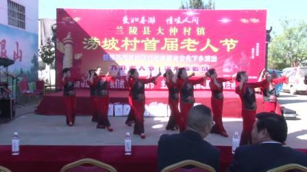 兰陵县大仲村镇涝坡村首届老人节