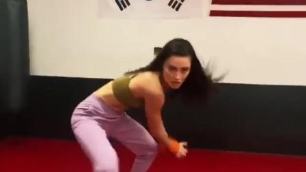 【游民星空】《生化危机》电影丽莎训练视频