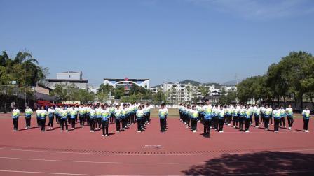宜章县第二中学大课间展示