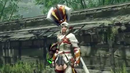 【游民星空】《怪物猎人:崛起》伞鸟套装