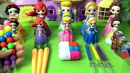 五个公主的的个性笔,哪个公主的的最好玩最有创意呢?