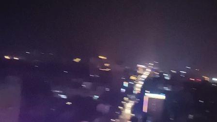 岳阳县夜景一