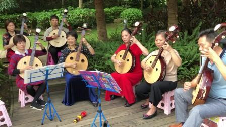 中阮《送别》《珊瑚颂》,爱乐艺术中阮一班学员合奏