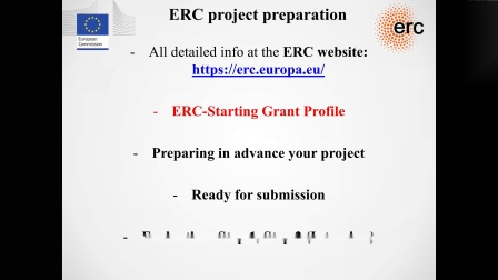 Webinar on Applying for an ERC Grant: ERC Grantee Prof Manuel Perez Garcia