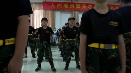 黄埔军校穗鹰冬令营精彩视频33