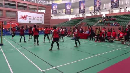 2020年广东省老年气排球比赛珠海女队:河源女队第3局 (2)