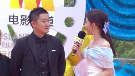 第三届海南岛国际电影节闭幕式暨颁奖典礼 《又见奈良》剧组接受采访,鹏飞透露接下来的工作计划