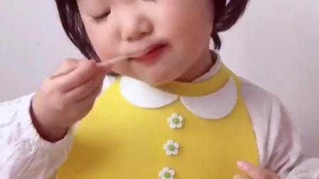 童年趣事:好可爱的小熊蛋糕啊!