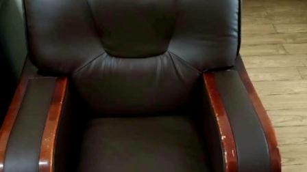 沙发椅子餐椅床头靠背皮面脱皮翻新效果杠杠的