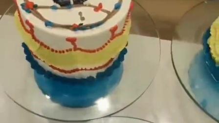 宿州百甲蛋糕培训学员的手绘蛋糕
