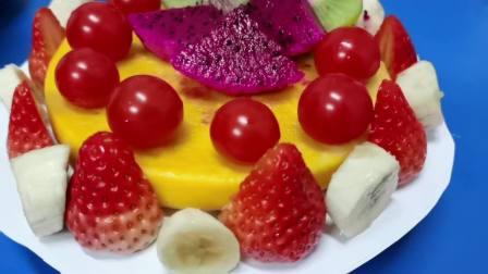 自制缤纷水果蛋糕