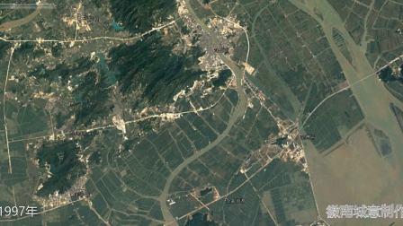 地图里看区域发展,珠海市斗门区与金湾区城市化发展